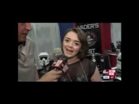 Maisie Williams on ABC News - Tampa Bay Comic Con - Tampa
